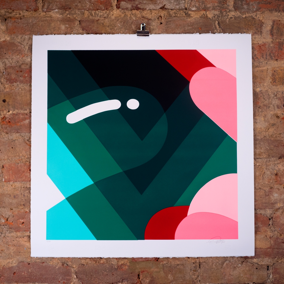Screenprint Florence Blanchard